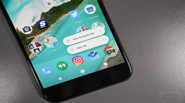 image result of Android 7.1