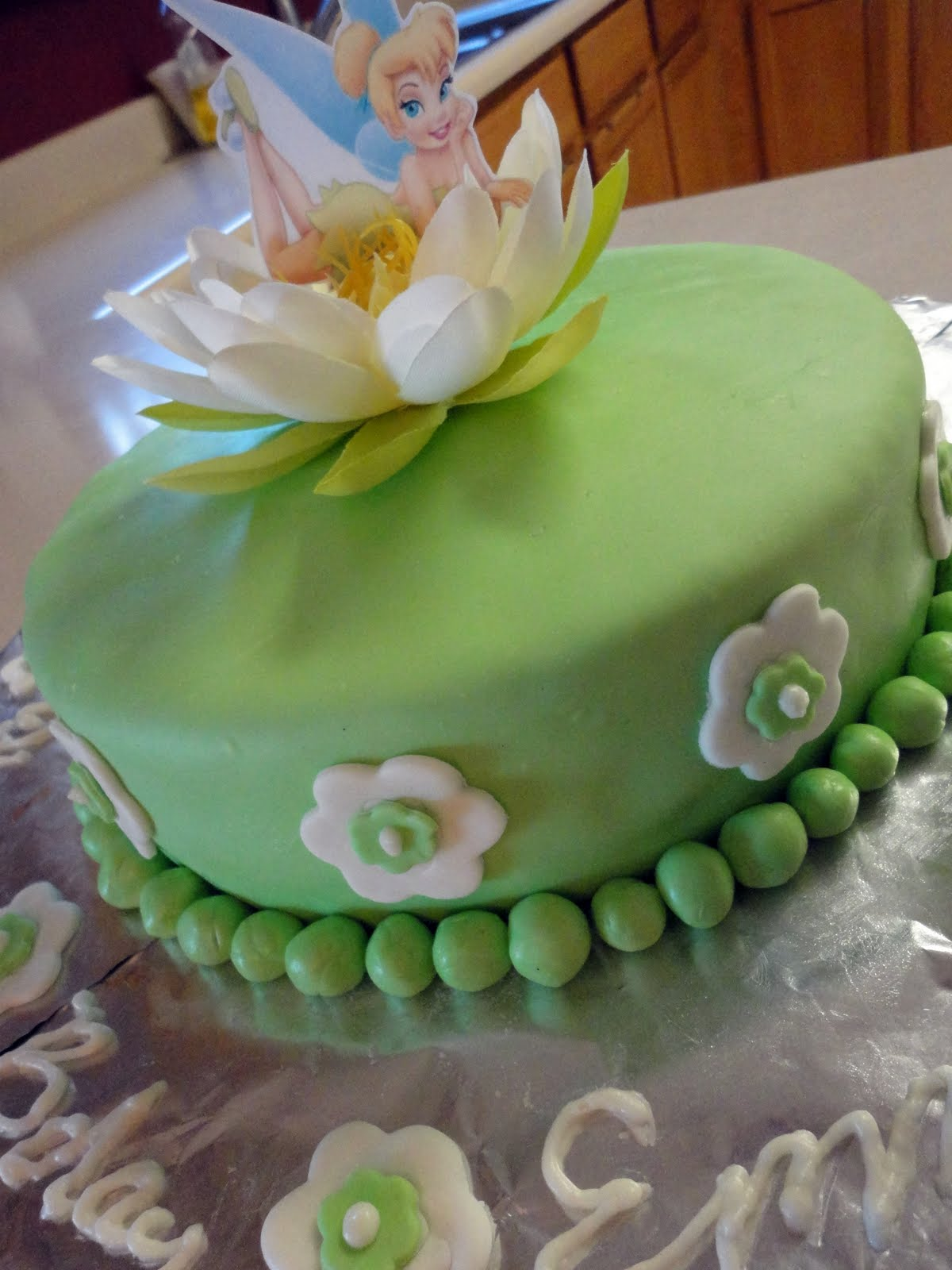 Tinkerbell Cake | Occasionally Crafty: Tinkerbell Cake