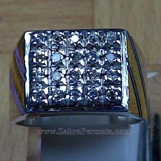 Cincin Berlian Natural Diamond - ZP 1037