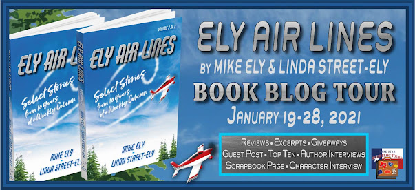 Ely Air Lines book blog tour promotion banner