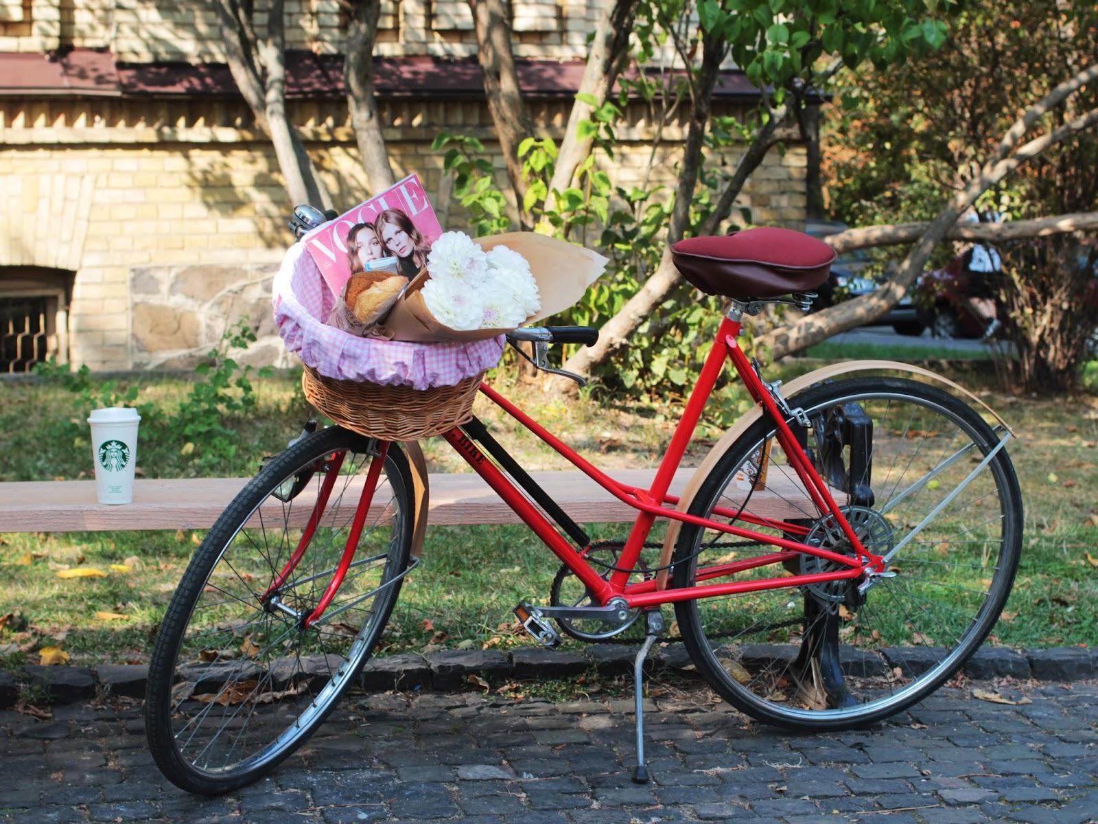 Корзинка для велосипеда купить киев, милая корзинка на велосипед, Bike me велоакссесуары