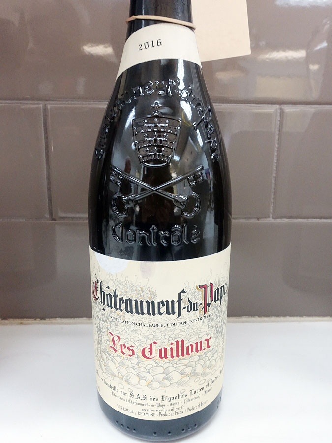 Les Cailloux Châteauneuf-du-Pape 2016 (92+ pts)