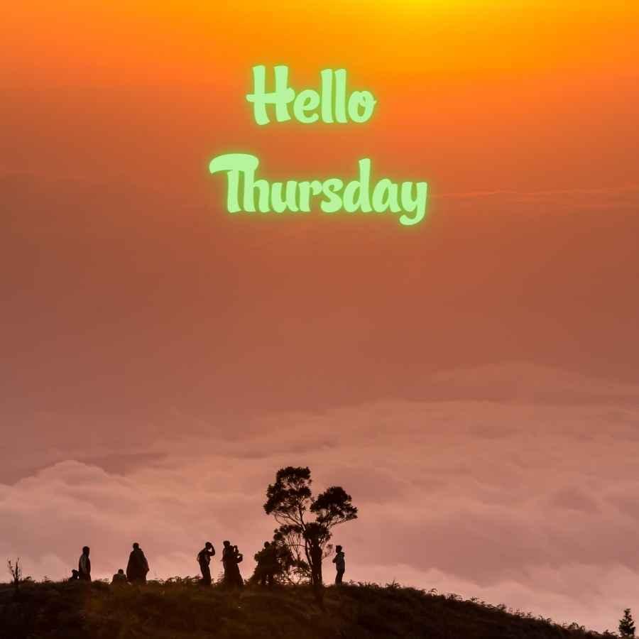 hello thursday