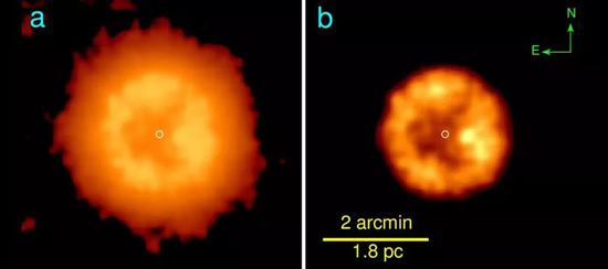 União de 2 estrelas formaram a estrela J005311