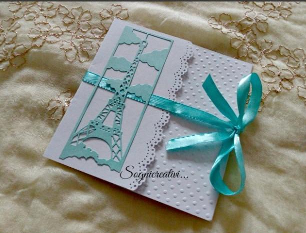 Matrimonio Tema Parigi : Partecipazioni sognicreativi wedding and events