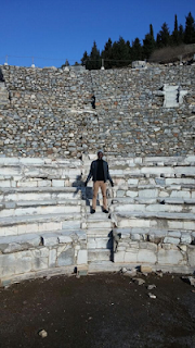 Reno Omokri in the Ancient Biblical City of Ephesus 1