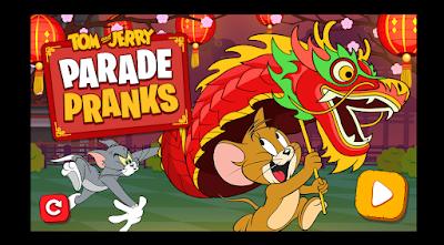 Tom and Jerry Parade Pranks
