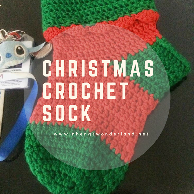 Christmas Crochet Sock