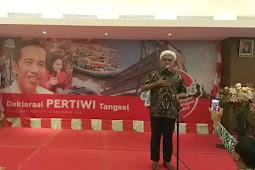 Ngabalin Serukan Emak-emak Perangi Hoaks dan Fitnah Terhadap Jokowi