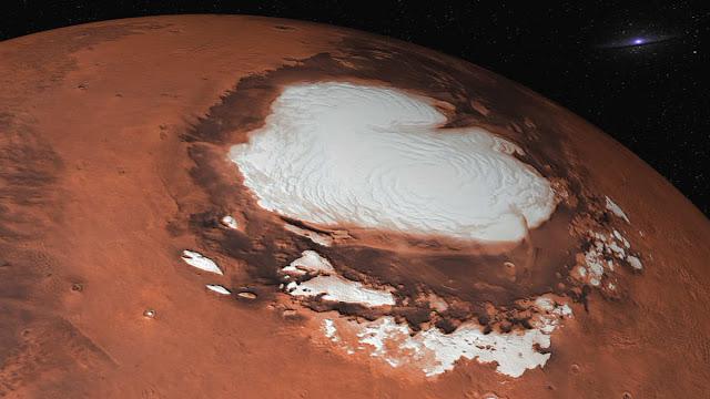 На Марсе нашли 3 соленых водоема