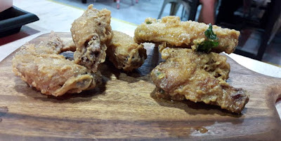 Salted egg chicken wings Timbre+