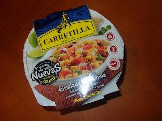 Ensalada de Quinoa, Carretilla