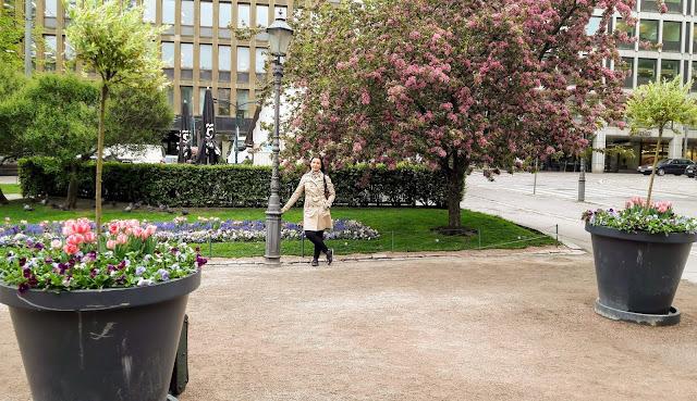 Oi ihana toukokuu Helsingissä