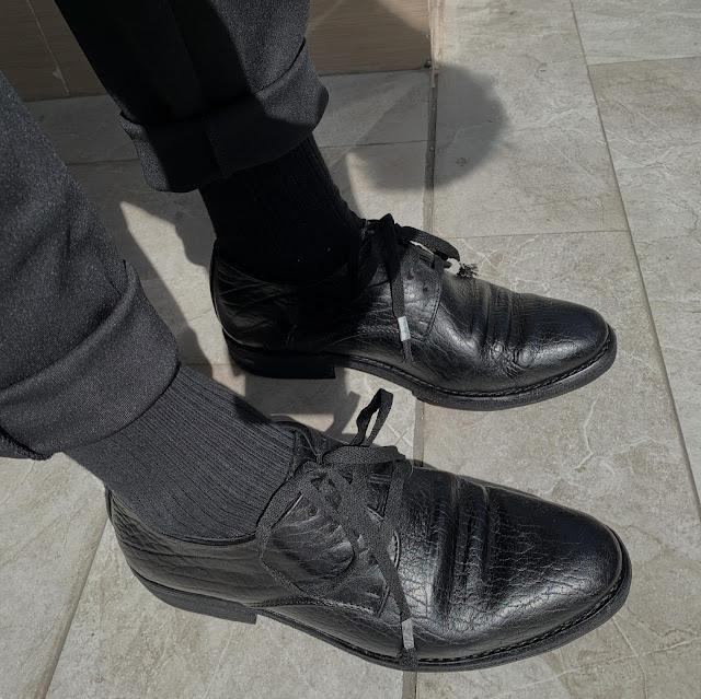 Giày Walker 322z - Walker derby 322 ảnh onfeet