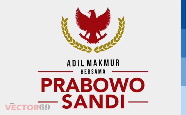 Logo Kampanye Prabowo-Sandi Capres 02 Adil Makmur - Download Vector File EPS (Encapsulated PostScript)