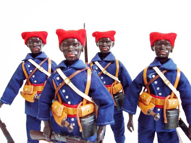 Madelman Les Tiraileurs senegaleses Custom