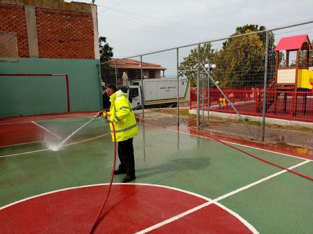 Εργασίες καθαριότητας σε Μιδέα, Αμυγδαλίτσα και Δενδρά από τον Δήμο Ναυπλιέων