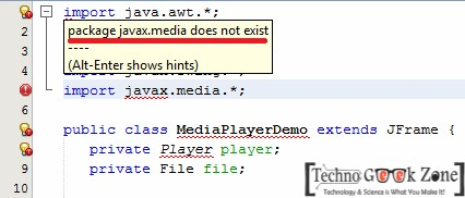 Resolved] Javax media does not exist! Netbeans or Eclipse Error