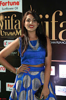 Madhu Shalini Looks Super Cute Slim trim Blue Choli Ghagra IIFA Utsavam Awards 36.JPG
