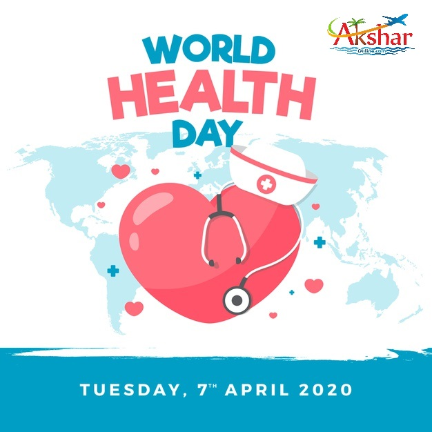 """Tuesday, 7 April, World Health Day 2020 On #WorldHealthDay, we recognise and pay tribute to the tireless and selfless work of all #HealthWorkers.  They are on the frontline of the global #coronavirus response.  Join us and say """"THANK YOU"""" to these health heroes. India travel, travel in India, cheap air tickets, cheap flights, flight, hotels, hotel, holidays, bus tickets, air travel, air tickets, holiday packages, travel packages, railways, trains, rail, aksharonline India, Travel Agent in India, Travel Agent in Gujarat, Travel Agent in Ahmedbad, Cheap Domestic and International Air Ticket Booking, Hotel Booking, Tour Packages, Western Union Money Transfer, Foreign Exchange, Travel Insurance, Car Rental, Utility Bill Payment, Bus Ticketing and More, Cheap Flight Ticket, Cheap Air Ticket, Air Ticket Agent in India, Air Ticket Agent in Ahmedabad, Air Ticket Agent in Gujarat, Air Ticket Agent in Ghatlodia, Flight Ticket Booking,Cheap Railway Ticket, Cheap Railway Ticket, Railway Ticket Agent in India, Railway Ticket Agent in Ahmedabad, Railway Ticket Agent in Gujarat, Railway Ticket Agent in Ghatlodia, Railway Ticket Booking,,Cheap Rail Ticket, Cheap Rail Ticket, Rail Ticket Agent in India, Rail Ticket Agent in Ahmedabad, Rail Ticket Agent in Gujarat, Rail Ticket Agent in Ghatlodia, Rail Ticket Booking,Cheap Bus Ticket, Cheap Bus Ticket, Bus Ticket Agent in India, Bus Ticket Agent in Ahmedabad, Bus Ticket Agent in Gujarat, Bus Ticket Agent in Ghatlodia, Bus Ticket Booking,Cheap Hotel Ticket, Cheap Hotel Ticket, Hotel Ticket Agent in India, Hotel Ticket Agent in Ahmedabad, Hotel Ticket Agent in Gujarat, Hotel Ticket Agent in Ghatlodia, Hotel Ticket Booking,Cheap Travel Insurance Ticket, Cheap Travel Insurance Ticket, Travel Insurance Ticket Agent in India, Travel Insurance Ticket Agent in Ahmedabad, Travel Insurance Ticket Agent in Gujarat, Travel Insurance Ticket Agent in Ghatlodia, Travel Insurance Ticket Booking,Cheap Car Rental Ticket, Cheap Car Rental Ticket, Car Re"""