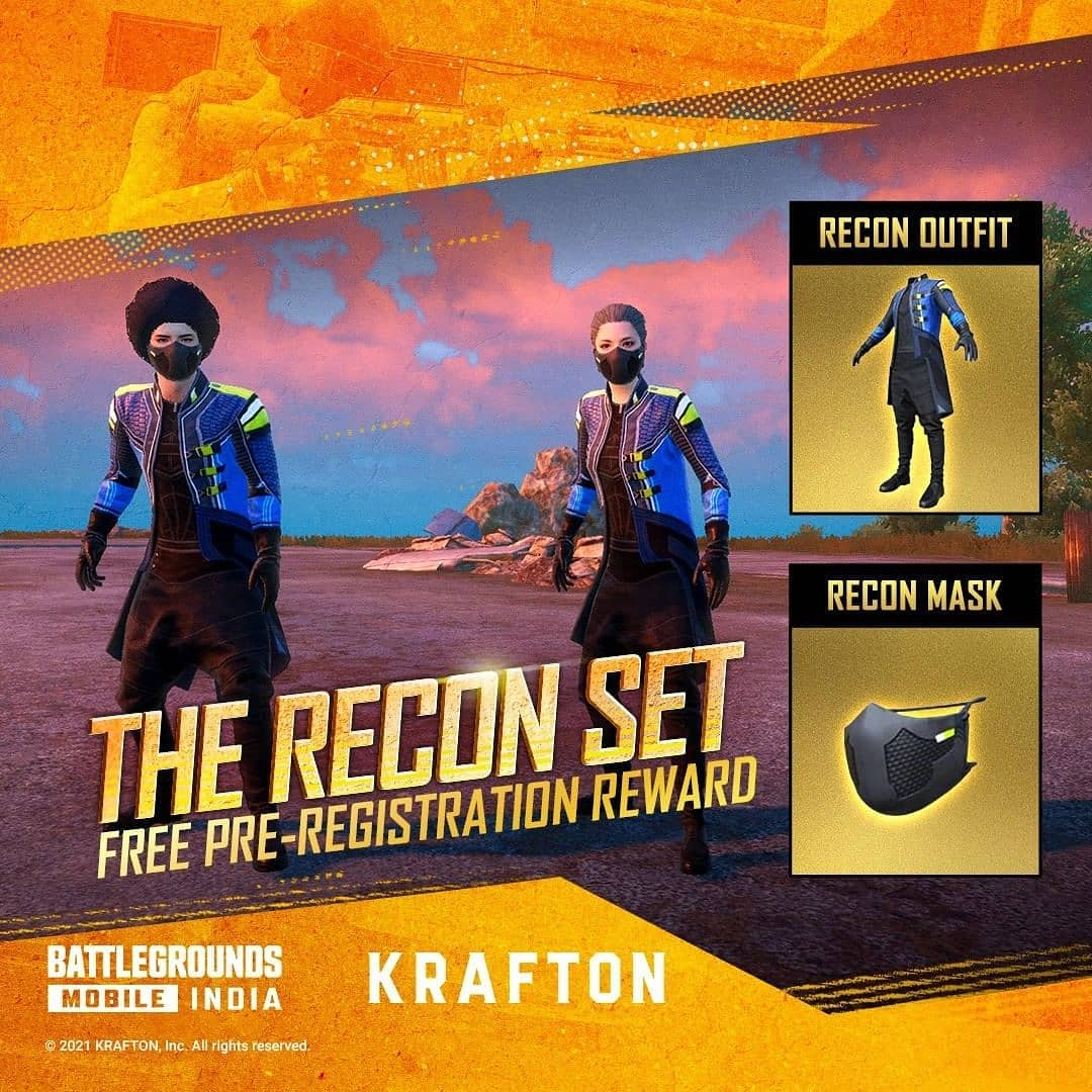 Free Recon Set (Outfit & Mask)
