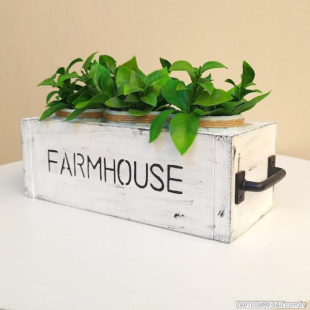 Decoração estilo farmhouse