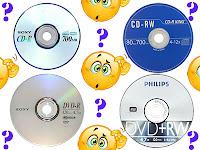 Perbedaan Antara CD-R, CD-RW, DVD-R, dan DVD-RW