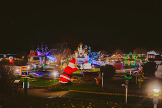 Holiday Lights Mini Golf at Fun Fore All, photo courtesy of Fun Fore All Family Fun Park. Photo by Hot Metal Studio-75 / Fun Fore All Family Fun Park