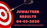 Juwai Teer Results Today-04-03-2020