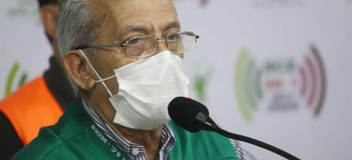 Oscar Urenda fue internado nuevamente en una clínica privada / EL DEBER