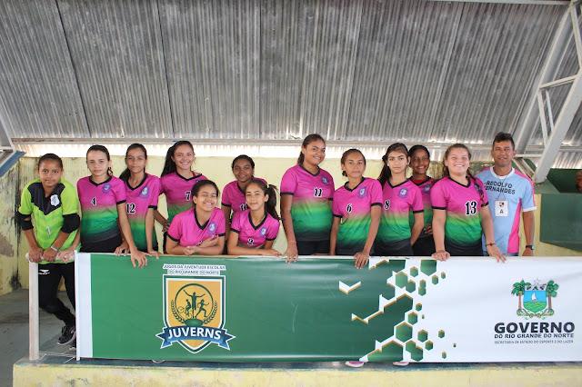 Começou hoje, 19, os Jogos Inter-regionais dos JUVERNs em Viçosa/RN