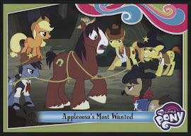 MLP Appleoosa's Most Wanted Series 4 Trading Card