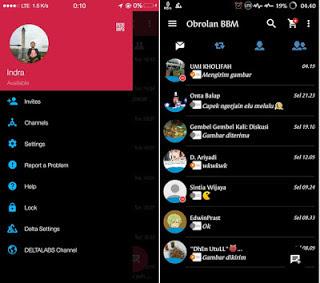 Download BBM DELTA Transaparan v3.1.25 MOD APK [DELTA v3.7.0] Update Terbaru + Kumpulan BBM MOD DELTA APK New Version