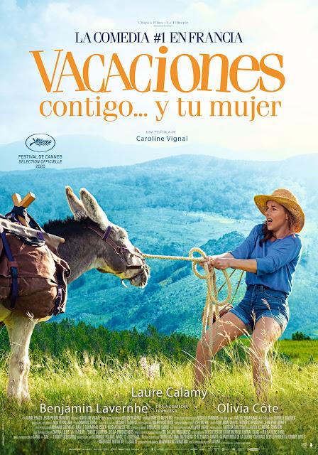 Cartel Vacaciones contigo... y tu mujer