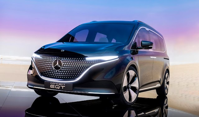 Yeni Concept Mercedes-Benz EQT hafif ticari araç tanıtıldı