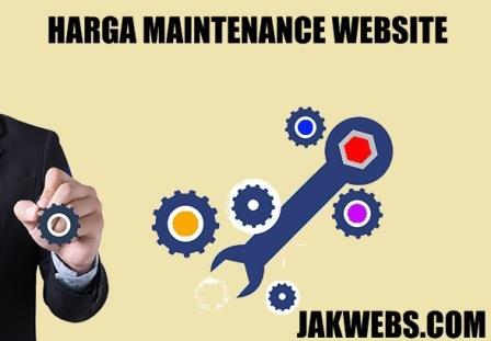 harga paket maintenance website, biaya maintenan website perbulan, biaya maintenance website per tahun