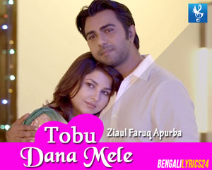 Tobu Dana Mele Lyrics - Apurba, Jenny (Telefilm Song)
