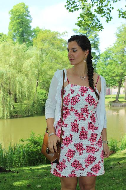 Robe comptoir des cotonniers pour le printemps, sac zara