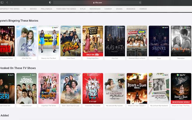 Daftar Aplikasi Nonton Film Legal dan Berkualitas