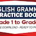 ENGLISH GRAMMAR PRACTICE BOOKS (Grade 1 to Grade 6) Free Download