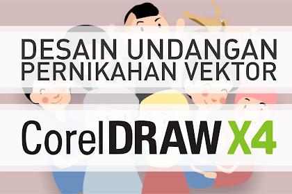 Download Desain Undangan Pernikahan Vektor Corel Draw