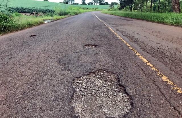 Deputado Marcio Nunes pede melhorias na estrada de Roncador a Iretama