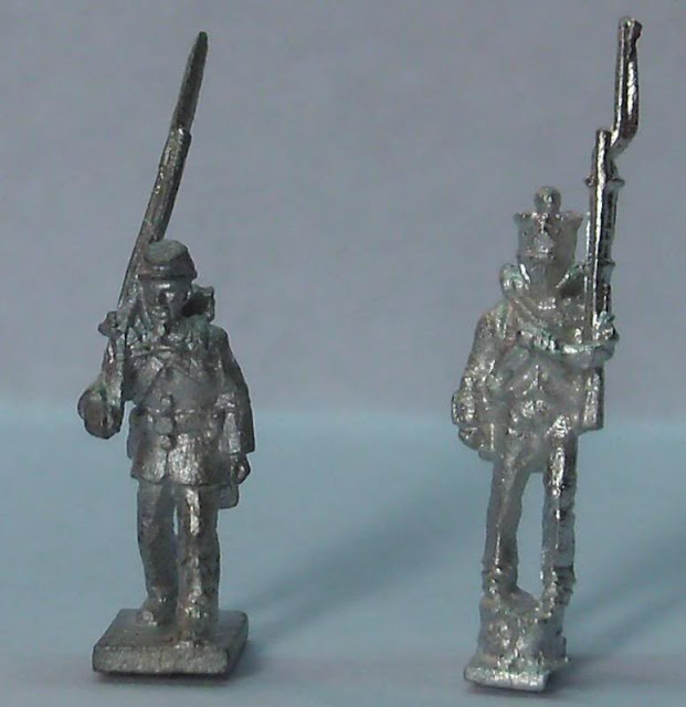 GHQ 10mm Union and InkBiz 1:200 Napoleonic French