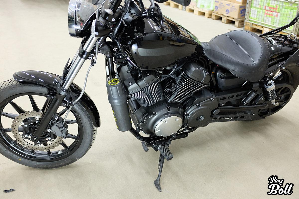 black bolt star bolt yamaha xv950 blog fuel bottle