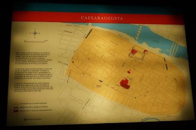Mapa de Caesaraugusta