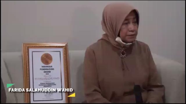 Kategori Tokoh Pendukung Gerakan Terbaik: (alm) Ir. KH. Sholahudin