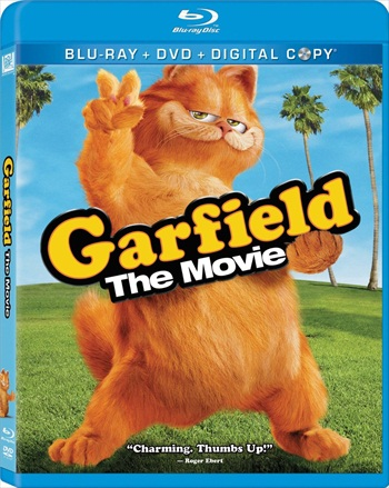 Garfield 2004 Dual Audio Hindi 720p BluRay 750mb