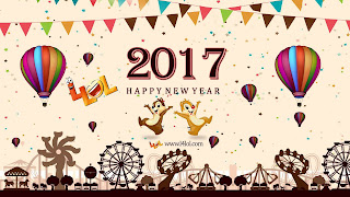 New Year Greetings Card For Friends