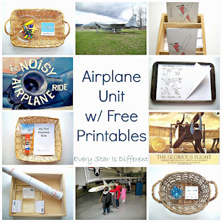 Airplane Unit with Free Printables