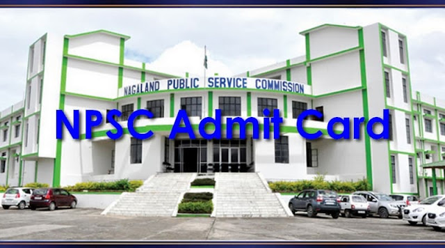 NPSC Admit Card 2017–2018 npsc.co.in Combined Technical Services Interview